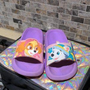 Paw Patrol Slides - Kids Size 9/10